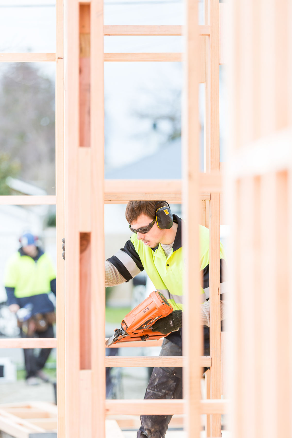 Builders commercial portrait in Christchurch