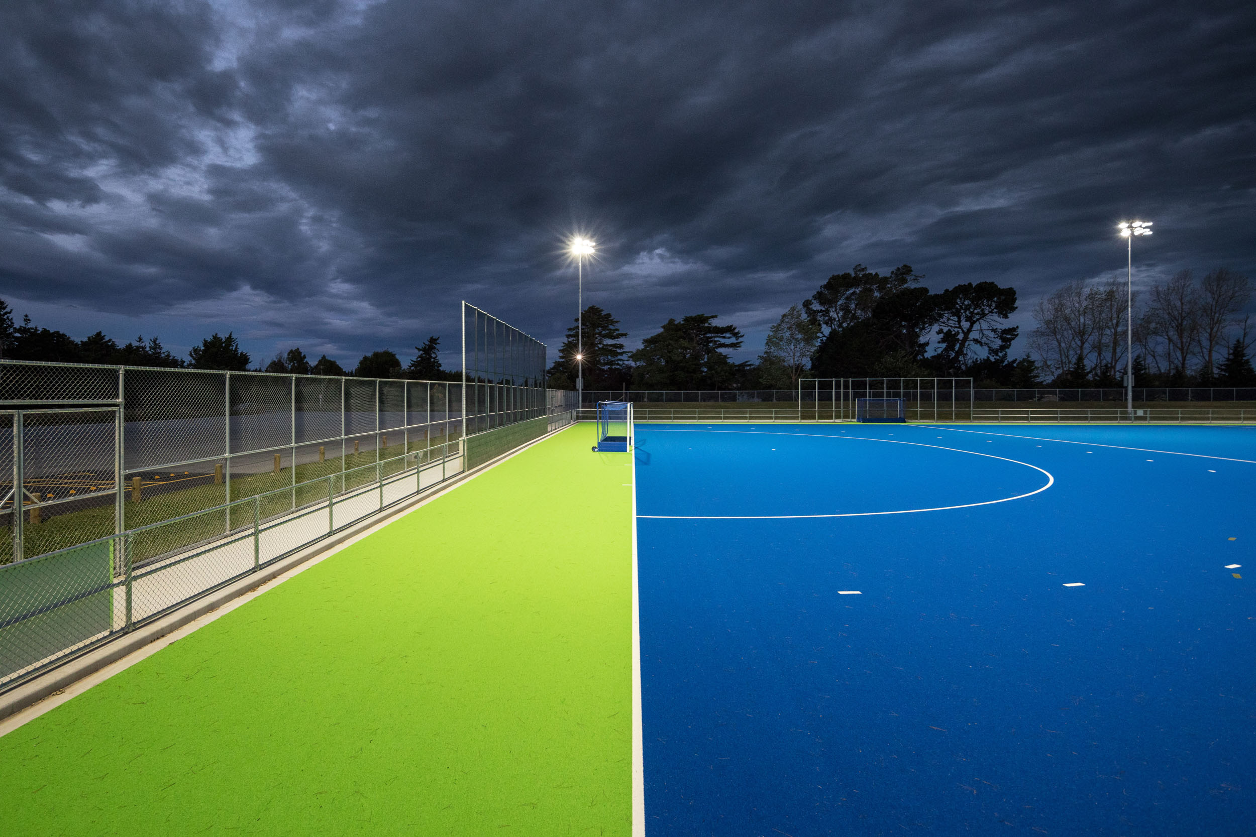 Hockey pitch built by HEB Construction