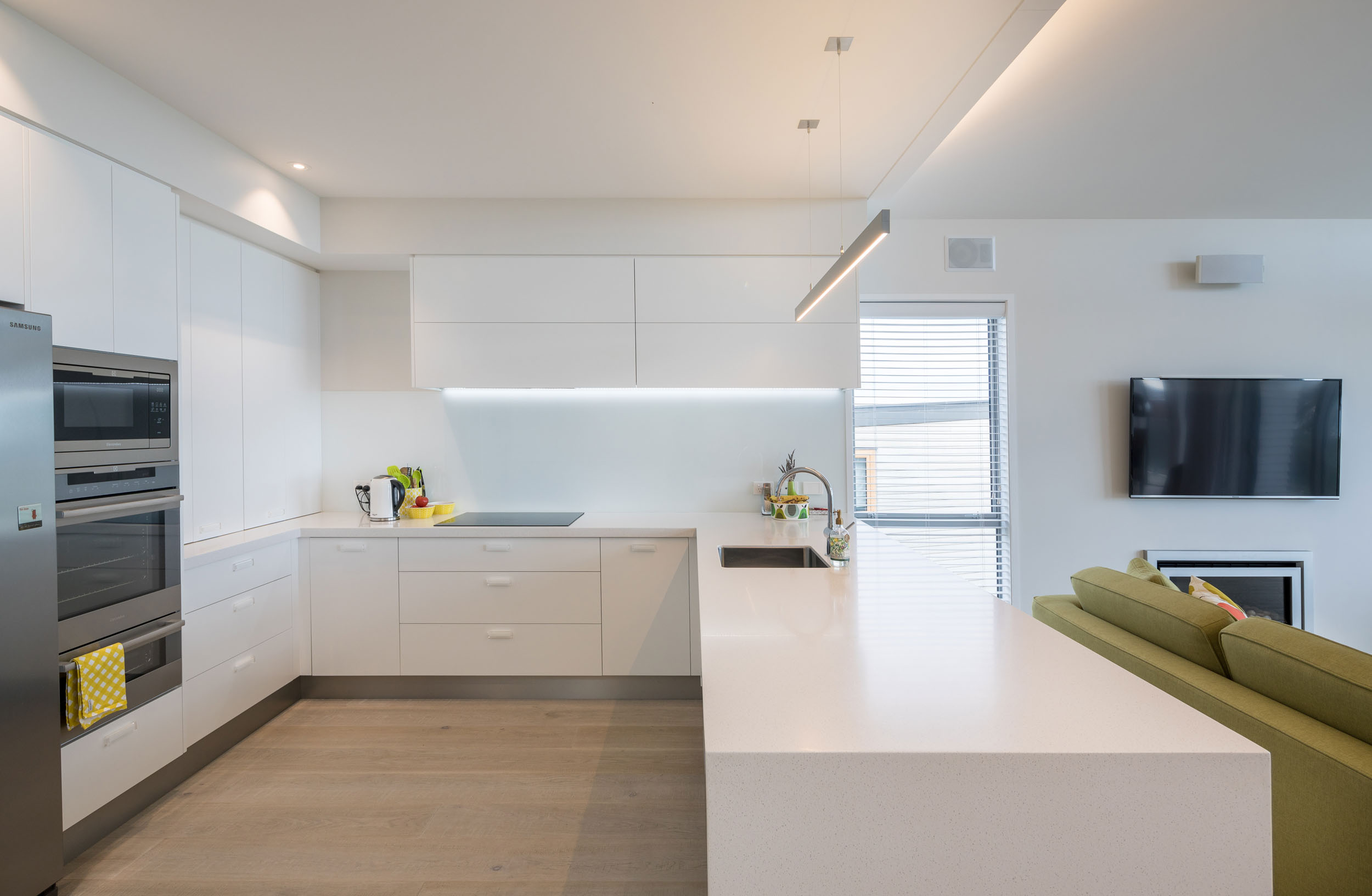 Kitchen photographed for Swish Builders
